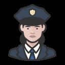 coronavirus, female, police, white