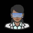 black, coronavirus, female, virologist
