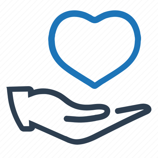 care, health, heart, insurance, protection icon