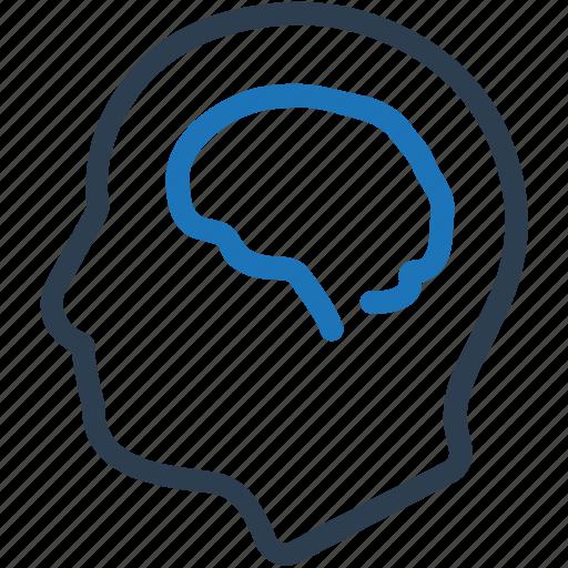 brain, head, mind, neuroscience icon