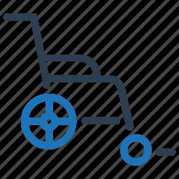disable, handicap, wheelchair icon