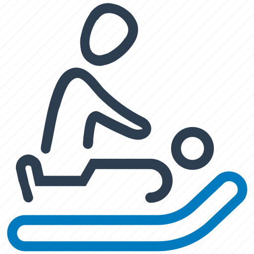 medical treatment, patient, sick, sickbed, visitors icon