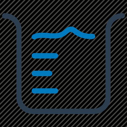 beaker, chemical, chemistry, experiment, experimental, laboratory icon