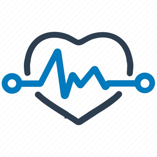 cardiogram, electrocardiogram, heart, heart rate icon
