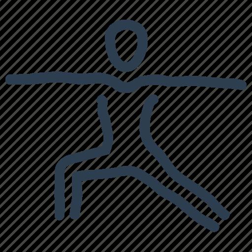 athlete, exercise, fitness icon