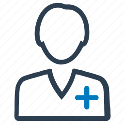doctor, female, physician, practitioner icon