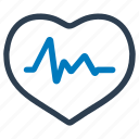 cardio, cardiology, health care, healthcare, heart, heartbeat, pulse icon
