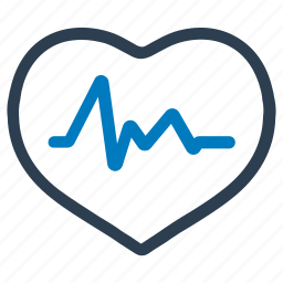 cardio, cardiology, health care, healthcare, heart, heartbeat, pulse icon