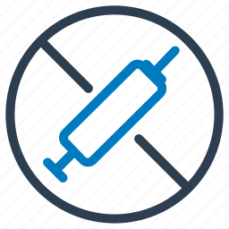 banned, drug, injection, medicine, pill, prohibited, steroid icon
