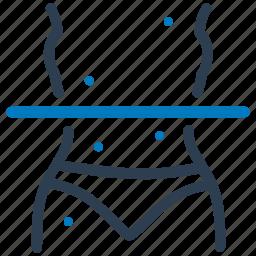 body scan, diagnosis, medical scan, symptom checker icon