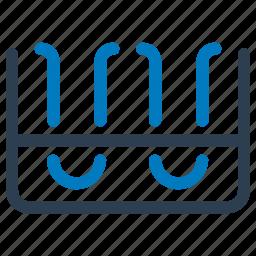 lab glassware, sample tubes, test tubes icon