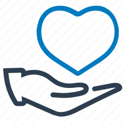 health, heart, heart care, insurance, protection icon