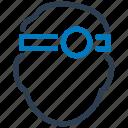 ophthalmologist, otorhinolaryngology, otorinolaringolog icon