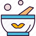 Bowl Care Cooking Health Icon