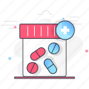 cure, drugs, medicine, remedy, supplements icon