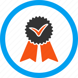approve, approvement, award, confirm, prize, reward, seal icon