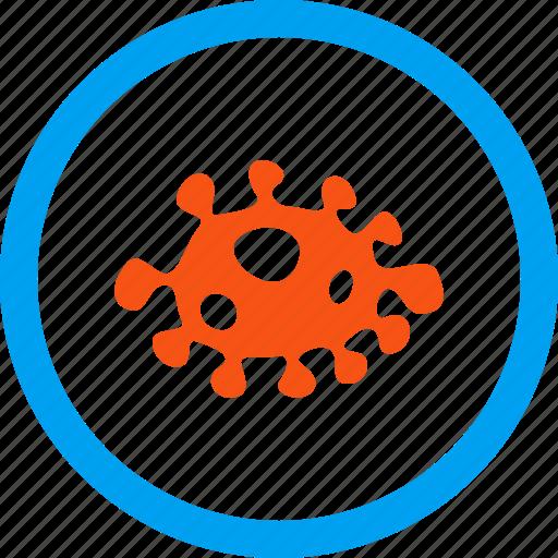 ameba, amoeba, bacilla, bacteria, biological agent, infection organism, microorganism icon
