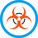 attention, bio hazard, biohazard, biological danger, caution, epidemic, infection icon