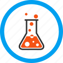 boil, boiling liquid, chemistry, flask, science, vapor, water icon