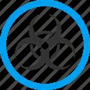 bio hazard, biohazard symbol, biological, danger, epidemic, virus, warning