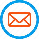 communication, envelope, email, letter, mail, post, message icon