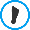foot, footprint, heel, shoe, step, track, walk icon