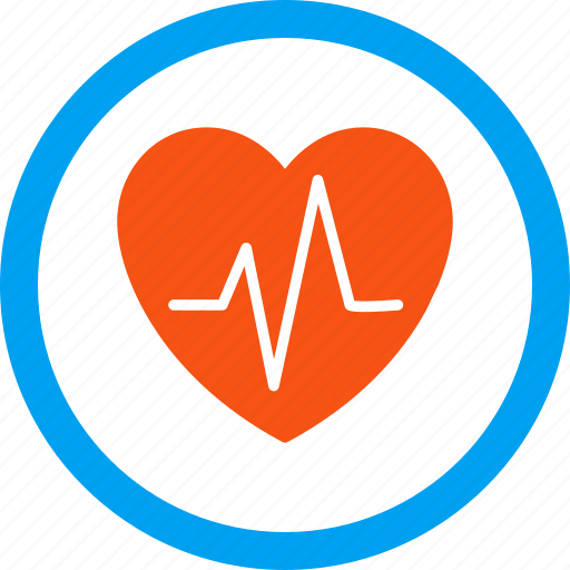 cardiogram, cardiology, ecg, ekg, health care, heart pulse, heartbeat icon