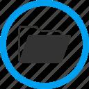 files, documents, open folder, catalog, paper, file, document icon