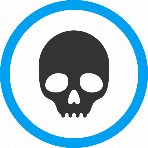danger, dead head, death, pirate, poison, skull, toxic icon