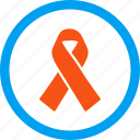achievement, alliance, award, hiv ribbon, solidarity, support, tie icon