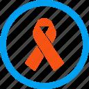 alliance, support, award, hiv ribbon, solidarity, tie, achievement icon