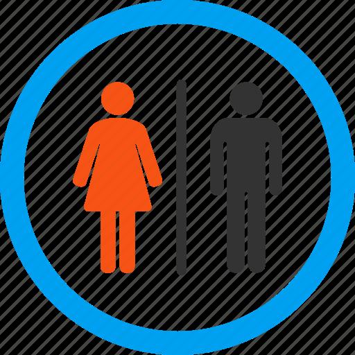 bathroom, restroom, room, sanitary, toilet, washroom, wc icon