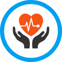 cardio, cardiology, emergency, heart, medical, medicine, repair icon