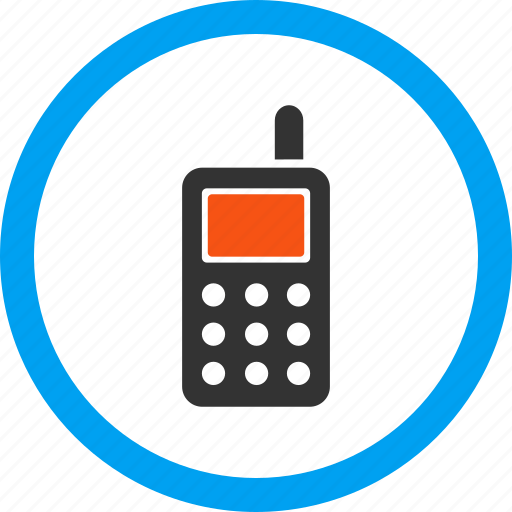 cell phone, communication, connection, contact, radio, telephone, wireless icon