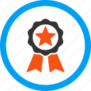 achievement, award, best, certification seal, prize, reward, trophy icon