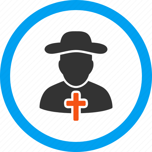 chaplain, clergy man, clergyman, josser, kirkman, prelate, priest icon