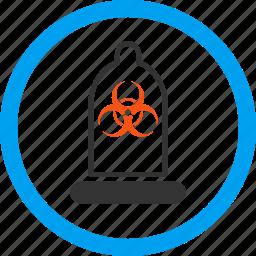 antivirus protection, biohazard, condom, contraception, preservative, preserve, rubber icon