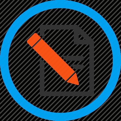 edit records, pencil, record, signature, subscribe, write, writing icon