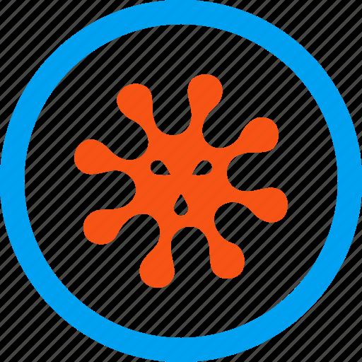 antivirus, bacteria, biohazard, biological, danger, infection, virus icon