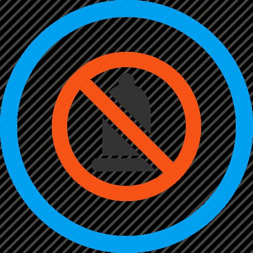 contraception, contraceptives, forbidden condom, preservative, preserve, reproduction, rubber icon