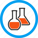 chemical glass, chemistry, flasks, labs, medical, pharmacy, retort icon