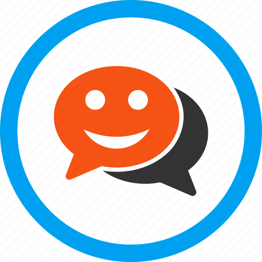 comment, communication, connection, contact, happy chat, message, talk icon