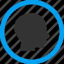 avatar, client profile, face, head, man, person, user account