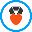 bookmark, charity, favourite, heart award, like, love, rating icon