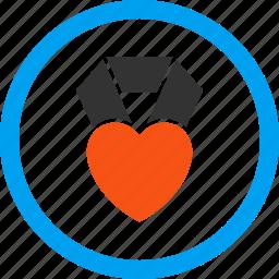 bookmark, charity, favourite, heart award, like, love, rating icon