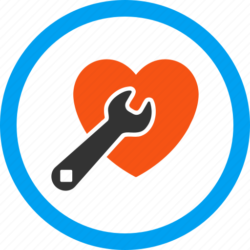aid, cardio, heart, love, repair, service, surgery icon
