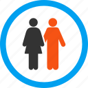 family, human couple, men, parents, people, users, wedding icon