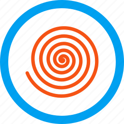 hypnosis, inculation, spiral, suggestion, vortex, whirl, whirlpool icon