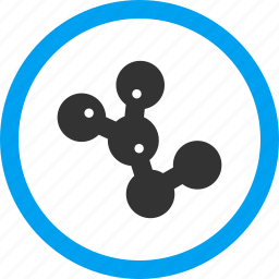 biohazard, biological, disease, infection, microbes colony, parasites icon