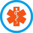 emergency, healthcare, hospital, life star, medical embleme, medicine, pharmacy icon